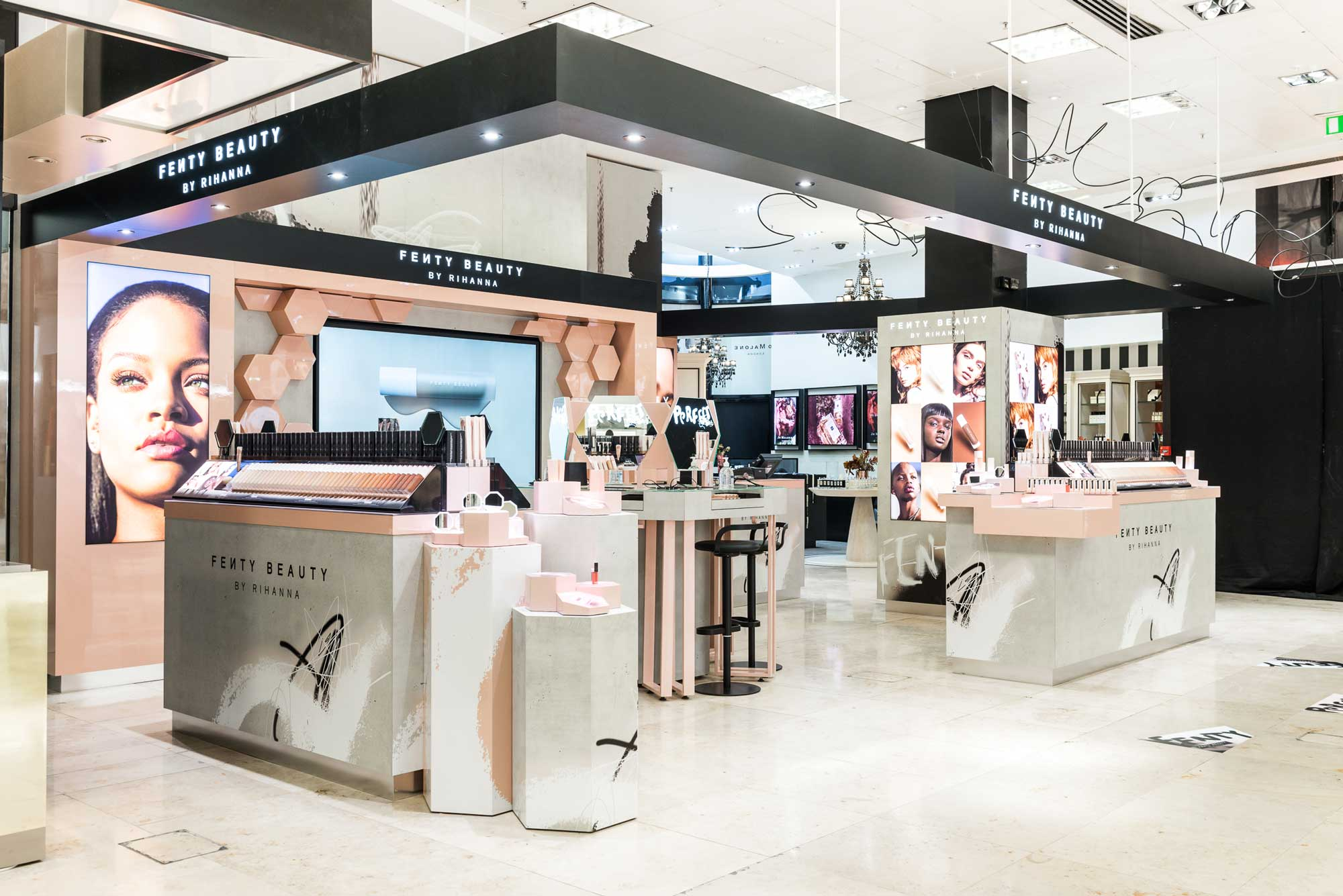 FENTY BEAUTY — IN-STORE SHOP IN SHOP CONCEPT & DESIGN — U ...